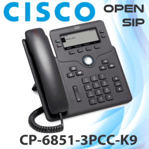Cisco CP6851 3PCC K9 SIP Phone Dubai